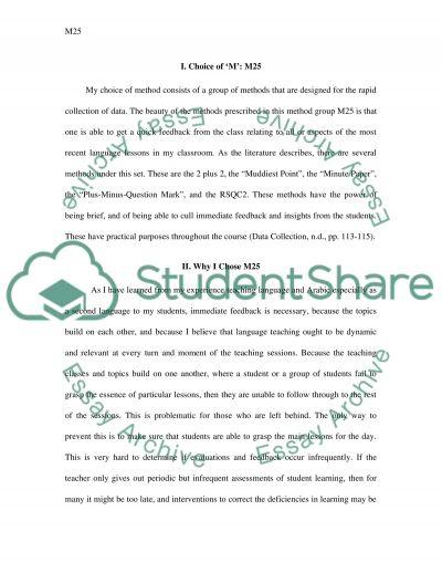 M 25 essay example