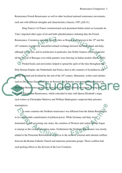 Their Eyes Were Watching God Essays Renaissance Comparison Essay On Hindi Language also Othello Character Essay Renaissance Comparison Essay Example  Topics And Well Written  Essay Writing Technology