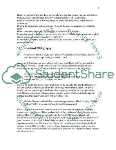 Research Paper Thesis Statementannotated bibliographyoutline