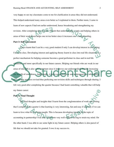 Essays On Different Topics In English Quarters Self Assessment The Yellow Wallpaper Essay also English Essay Questions Quarters Self Assessment Essay Example  Topics And Well Written  English Essays Book