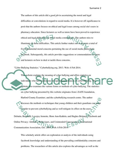 Annotated Bibliography: The Blue Page