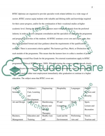 Planning and Enabling Learning essay example