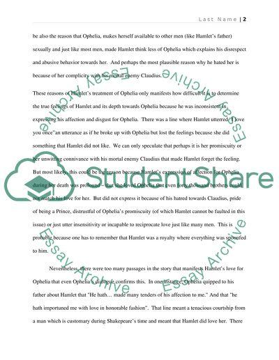 Essay hamlet theme truth universal
