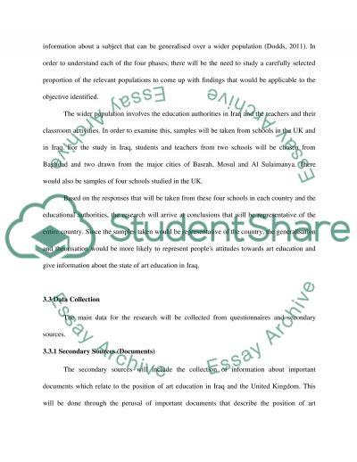Methodology essay example
