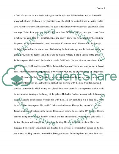 20 page essay one night