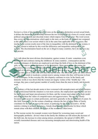 Minorities essay example