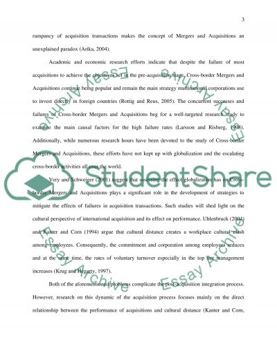 Applied research methods for Business and management essay example