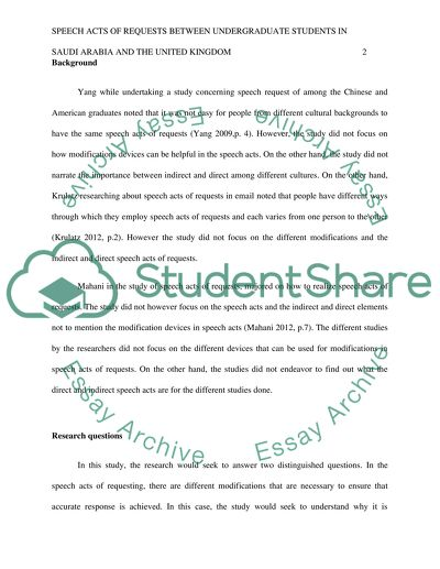 Cross-cultural pragmatics: university-level Saudi students and UK students (no clear topic yet)