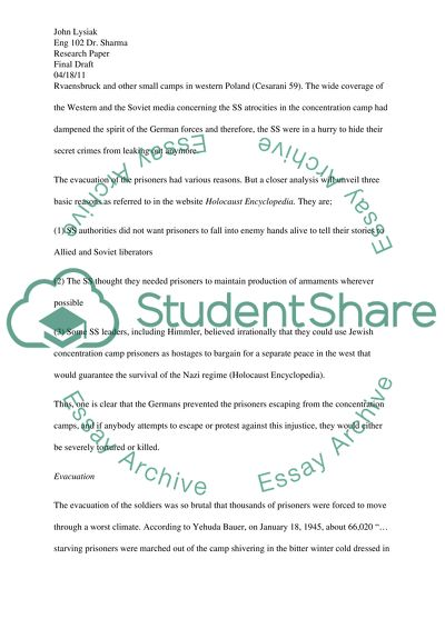 Essay Thesis Statement Example Death Marches Of The Holocaust Thesis Statement For Education Essay also What Is A Thesis Statement In An Essay Examples Death Marches Of The Holocaust Essay Example  Topics And Well  Narrative Essay Example For High School