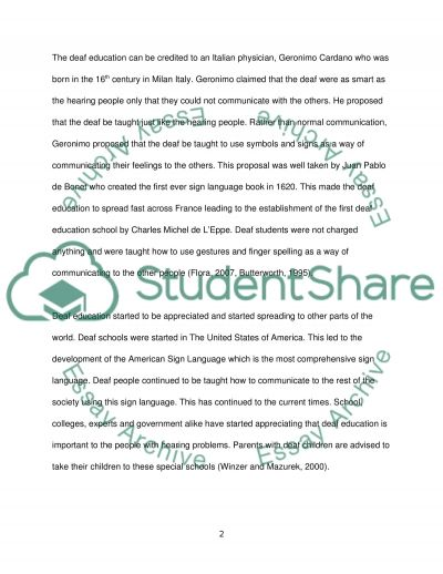 Outline and discuss the different kinds of barriers to learning and participation faced by disabled children and young people wi essay example