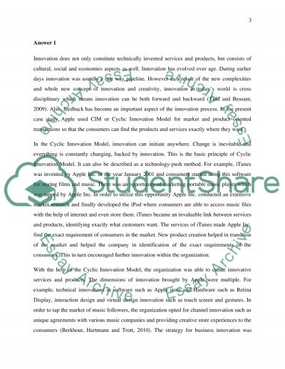 Marketing and brand innovation: Apple Inc. case essay example