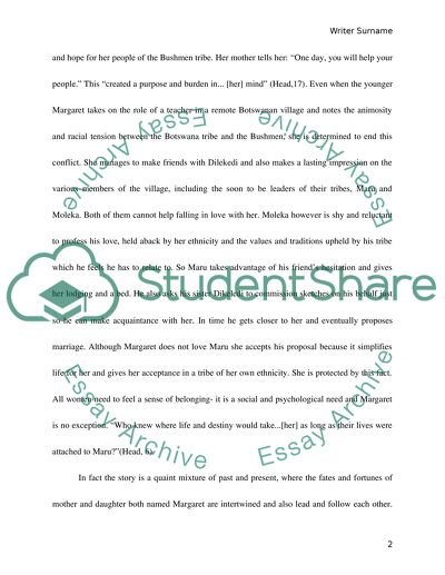 Essay Writing Thesis Statement Characters Deed And Destiny Environmental Science Essays also An Essay On Newspaper Characters Deed And Destiny Essay Example  Topics And Well Written  Thesis Statement Examples For Persuasive Essays