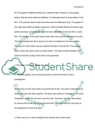 Study Guide Essay example