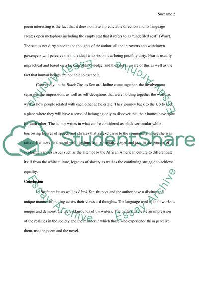 In class short essay- cl