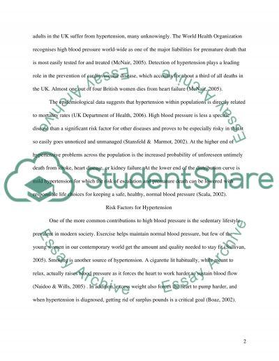 Health promotion College Essay essay example