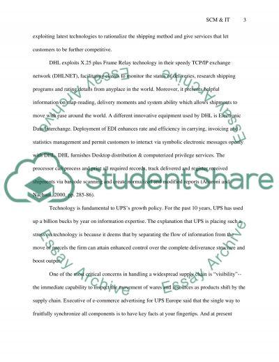 Supply Chain Essay essay example