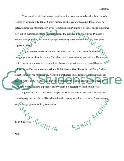 The assignment is a short paper written in the style of a letter to the editor in the Wall Street Journal