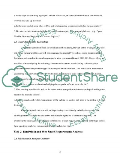 Multimedia Website Development essay example