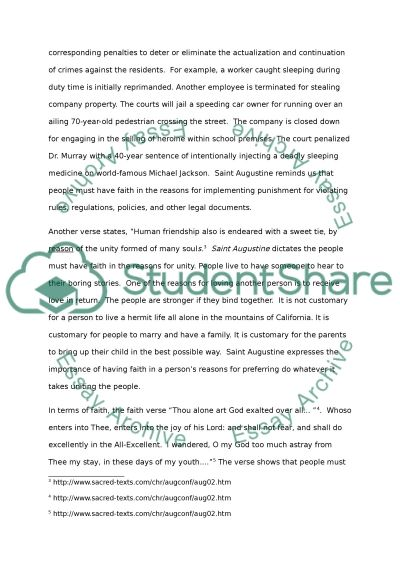 the relation between faith and reason in st ine s  the relation between faith and reason in st ines confessions essay example