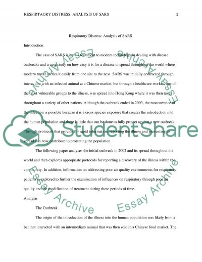 Environmental and Global Health Issues essay example