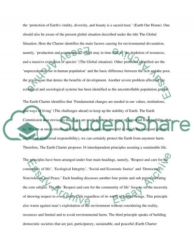 Emerging Issue assignment- new global initiative Essay example