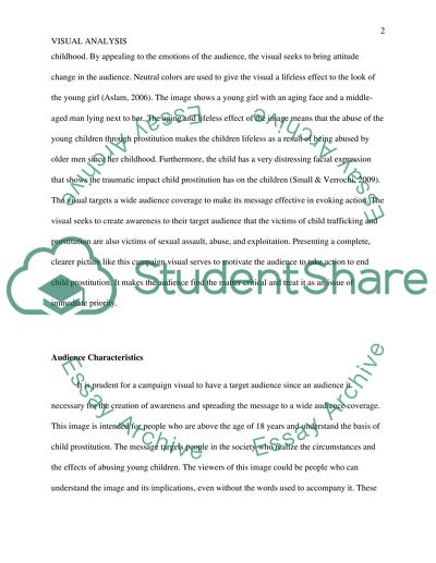 Example Essay Thesis Visual Analysis Of An Advertisement Writing Essay Papers also English Creative Writing Essays Visual Analysis Of An Advertisement Essay Example  Topics And Well  English Essay Speech
