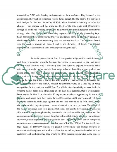 Marketing startegy essay example
