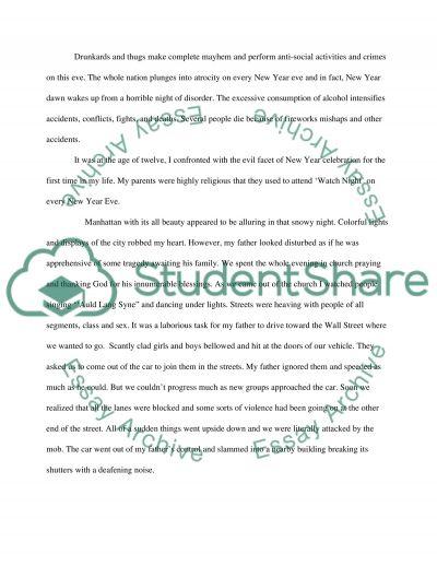 A holiday i dont like essay example