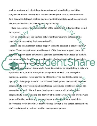 Implementation and Evaluation of WebBased technologies in teaching medical and engineering students