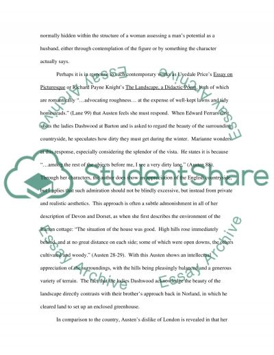 English Literature Essay essay example