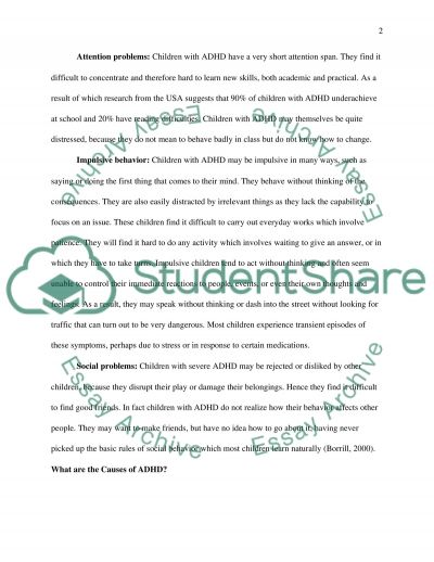 Psychology Essay essay example