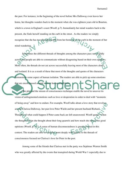 English Essays Book Plot  Stream Of Consciousness Of The Book Mrs Dalloway English Class Reflection Essay also Samples Of Persuasive Essays For High School Students Plot  Stream Of Consciousness Of The Book Mrs Dalloway Essay Business Etiquette Essay