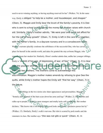 Thematic essay 2