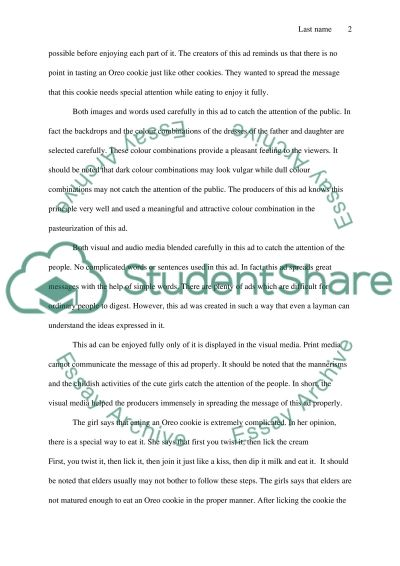 Easy Persuasive Essay Topics For High School Ad Essay Analyzing Visual Elements Of Arguments Ethos Logos Pathos In  English Debate Essay also In An Essay What Is A Thesis Statement Ad Essay  Barcafontanacountryinncom Friendship Essay In English