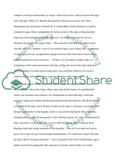 essay on william shakespeare pdf