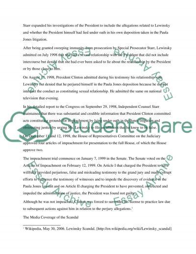 Media Trial essay example