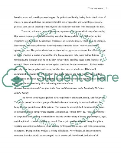 Family Centered Care Case Study Essay example