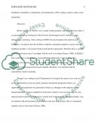 Motivation Admission Essay example