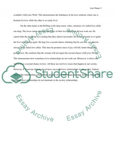 Thesis/ Outline