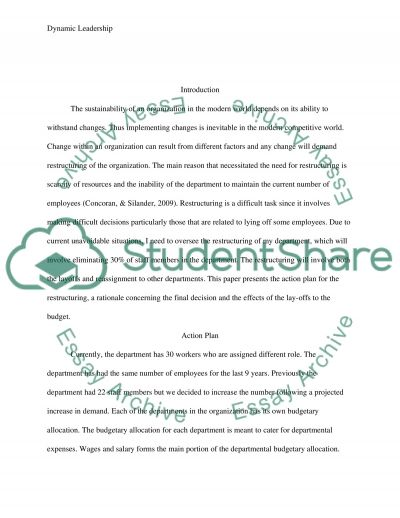 Dynamic Leadership: Communication for Crucial Conversations essay example