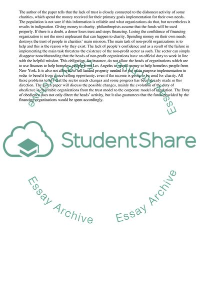 Essay for environmental pollution