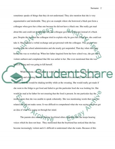 Psychology - Paranoid Schizophrenia essay example