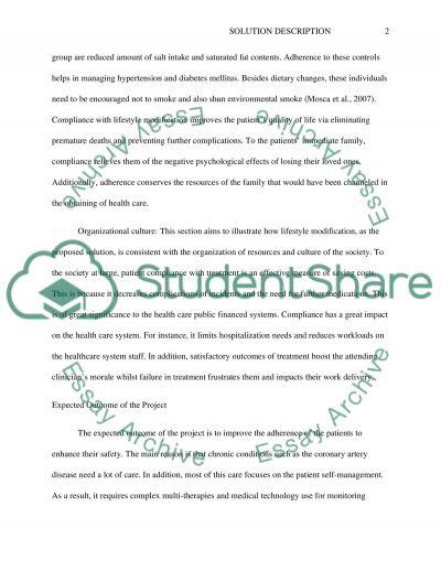 Solution Description Research Paper