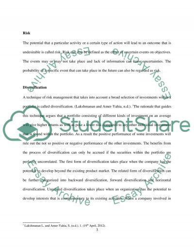 Finance Principles Essay essay example