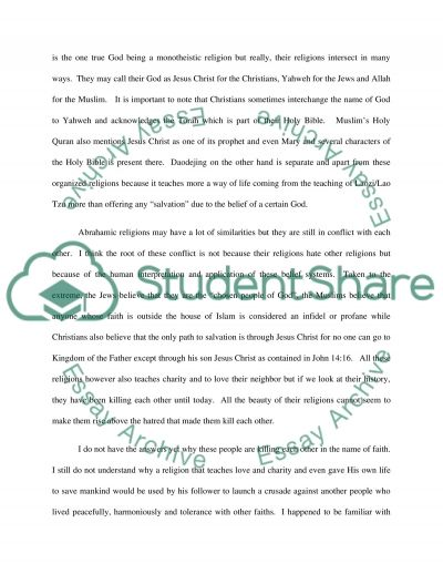Unit project essay example