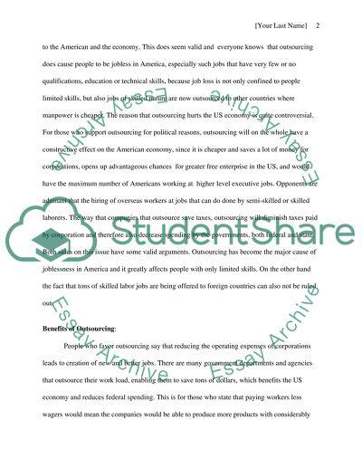 Essay literature value