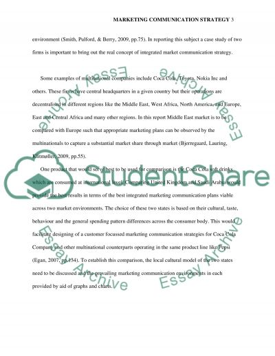 Implementing Integrated Marketing--- marketing communication strategy essay example