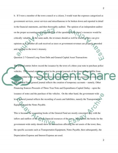 Accounting and Reporting Principles essay example