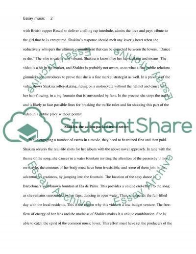 essay topics music