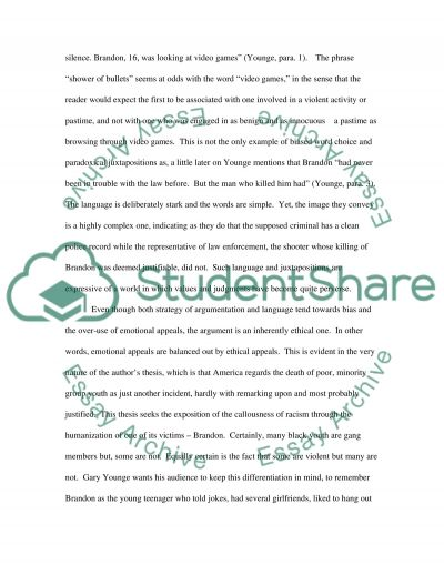 Value of Life essay example
